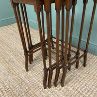 Stunning Set of Four Edwardian Antique Nest of Tables (4 of 5)