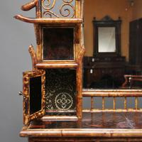 Impressive 19th Century Bamboo Cabinet (6 of 25)