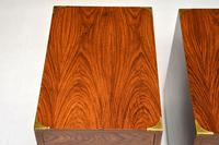 Pair of Military Campaign Style Rosewood Side Chests (9 of 10)