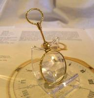 Victorian Pocket Watch Chain Monocle Magnifying Fob 1880s 12ct Rose Gold Filled (5 of 11)