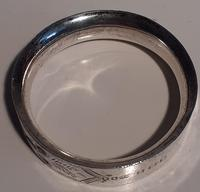 Silver Napkin Ring, Hallmarked Late 1800 / Early 1900s (2 of 4)