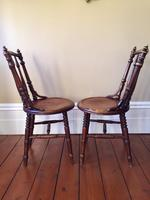Pair of Antique Thonet Style Bentwood Chairs (7 of 14)