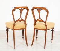 Pretty Pair of Victorian Walnut Chairs (6 of 7)
