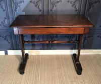Victorian Mahogany Side Table (2 of 9)