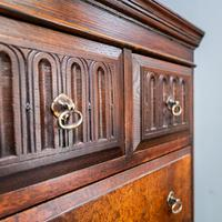 Compact Oak Chest on Chest (3 of 8)