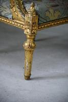 Pair of Gold French Louis XVI Style Armchairs (10 of 12)