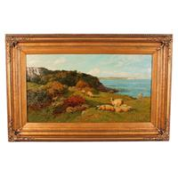 Oil on Canvas Landscape by Charles Collins (9 of 9)
