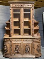 Magnificent French Carved Oak Hunting Sideboard (2 of 23)