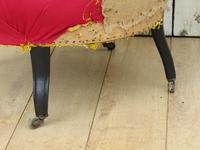 Pair of Antique Napoleon III Armchairs for re-upholstery (4 of 9)