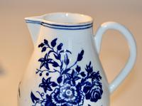 Worcester 'Three Flowers' Pattern, Sparrow-Beak Jug & Cover c.1770 / 1790 (11 of 11)