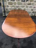 Antique Mahogany Twin Pillar Extending Dining Table (6 of 11)