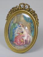 Beautiful Miniature Painting after Boucher Bathtime (5 of 6)