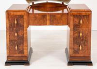 Art Deco Walnut Dressing Table (3 of 8)