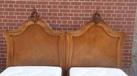 Pair of French Walnut Single Beds (15 of 17)