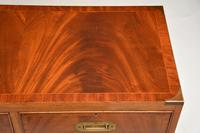 Antique Mahogany  Military Campaign Chest of Drawers (4 of 11)
