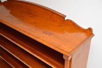 Antique Swedish Biedermeier Satin Birch Bookcase (3 of 12)
