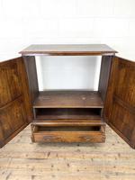 20th Century Reproduction Oak Side Cupboard (5 of 10)