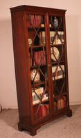Georgian Glassed Bookcase in Mahogany & Inlays - 18th Century English (13 of 14)