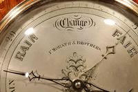 Very Rare Victorian Rosewood Inlaid Barometer (3 of 7)