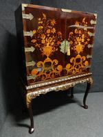 Outstanding Marquetry Cabinet on Stand (16 of 16)