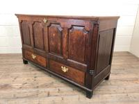 18th Century Welsh Oak Coffer with Panel Front (4 of 19)