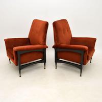 Pair of Italian Vintage Armchairs (3 of 10)