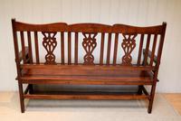 Edwardian Style Mahogany Bench (11 of 11)
