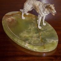 Cold Painted Bronze Borzoi Desk Companion (6 of 7)