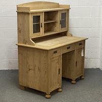 Antique Pine Writing Desk (4 of 8)