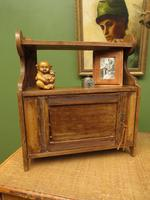 Small Rustic Wall Cabinet, Small Bathroom Cabinet (13 of 13)