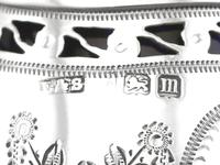 Sterling Silver Condiment Set - Antique George V (22 of 24)