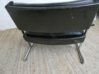 1960s Chrome & Leather Chair (7 of 12)