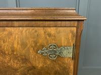 Burr Walnut Cocktail Cabinet (5 of 15)