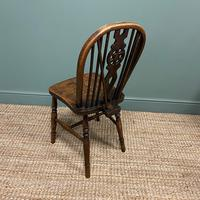 Six Country House Kitchen Elm Antique Windsor Chairs (3 of 6)