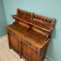 Victorian Holland & Sons Antique Oak Sideboard (3 of 9)