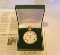 Antique Pocket Watch 1903 Special Waltham 10ct Rose Gold Filled Fwo (12 of 12)