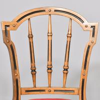 Pair of Victorian Walnut & Ebonized Side Chairs (7 of 9)