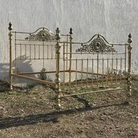 All Brass Antique Bed