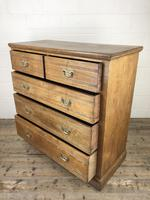 Large Antique Ash Chest of Drawers (6 of 10)