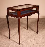 Small Mahogany Showcase Cabinet from Jeweler or Exhibition 19th Century (9 of 12)