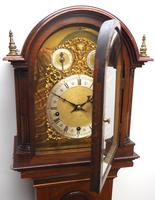 Antique Grandmother Clock 8 Gong Musical Longcase Clock with Dual Chimes by W&H c.1880 (11 of 15)
