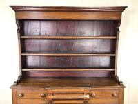 Antique 19th Century Oak Dresser (5 of 16)