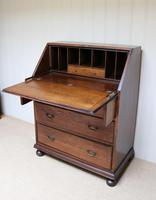 Solid Oak Bureau (6 of 6)