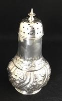 Victorian Repousse Silver Plated Sugar Shaker (2 of 5)
