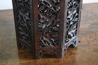 Anglo Indian Carved Table with Octagonal Top (9 of 10)