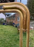 French Gilt Louis Philippe Margin Mirror (9 of 9)