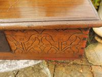 Country Oak Carved Bible Box Tree of Life 1740 (8 of 11)