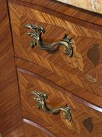 Quality French Marquetry Taller Chest of Drawers (10 of 15)