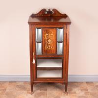 Edwardian Inlaid Music Cabinet (4 of 12)
