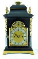 Rare Miniature Fusee Verge Bracket Mantle Clock - Made by John Johnson, London (2 of 12)